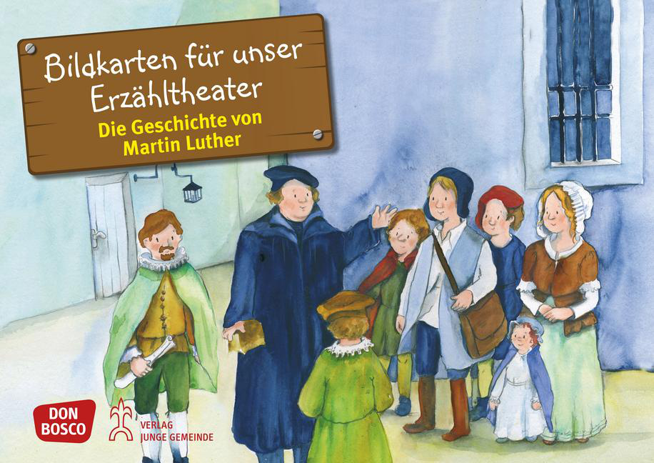 ein martin luther tag im kindergarten kamishibai. Black Bedroom Furniture Sets. Home Design Ideas