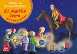 St. Martin feiern mit Emma und Paul. Kamishibai Bildkartenset.