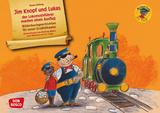 Jim Knopf und Lukas der Lokomotivführer machen einen Ausflug. Kamishibai Bildkartenset.