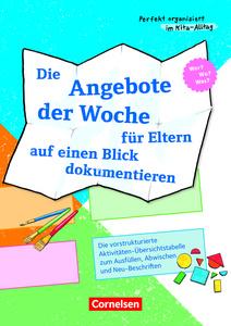 Organisation Und Kita Management Bildungsbereiche Kindergarten