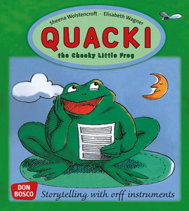 Quacki, the Cheeky Little Frog