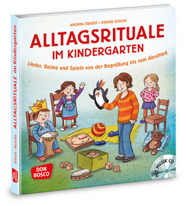 Alltagsrituale im Kindergarten, m. Audio-CD