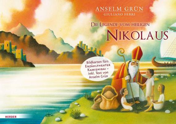 Die Legende Vom Heiligen Nikolaus Bildkarten Fürs Erzähltheater Kamishibai Offizieller Shop Des Don Bosco Verlags