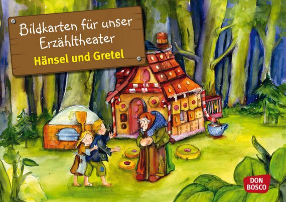 Prächtig Hänsel und Gretel. Kamishibai Bildkartenset.: Entdecken - Erzählen #SL_37
