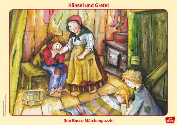Hansel Und Gretel Puzzle Don Bosco Marchenpuzzle Offizieller