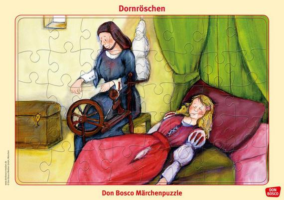 Dornröschen Puzzle Don Bosco Märchenpuzzle Offizieller Shop Des