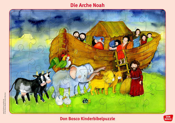 die arche noah don bosco kinderbibelpuzzle offizieller shop des don bosco verlag donbosco. Black Bedroom Furniture Sets. Home Design Ideas