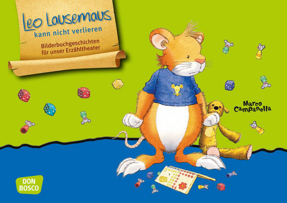 Leo Lausemaus kann nicht verlieren. Kamishibai Bildkartenset.