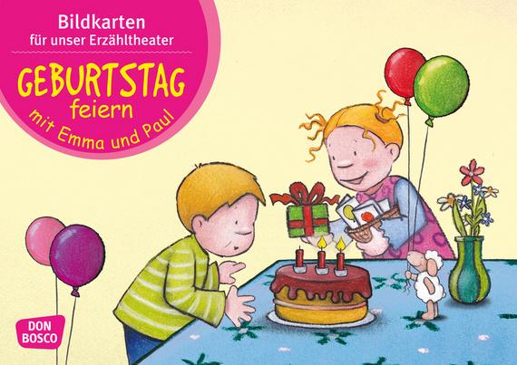 Geburtstag Feiern Mit Emma Und Paul Kamishibai Bildkartenset