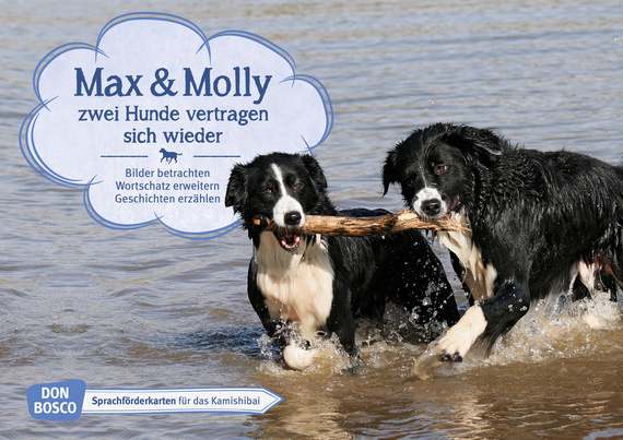 Max Und Molly Zwei Hunde Vertragen Sich Wieder Kamishibai