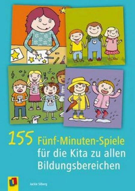 155 FünfMinutenSpiele für die Kita zu allen