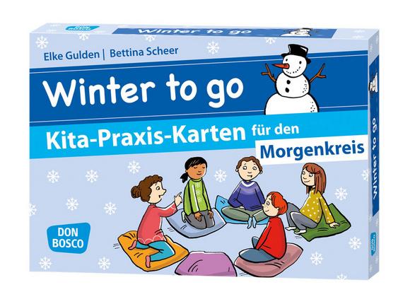 Winter To Go Kita Praxis Karten Für Den Morgenkreis Offizieller