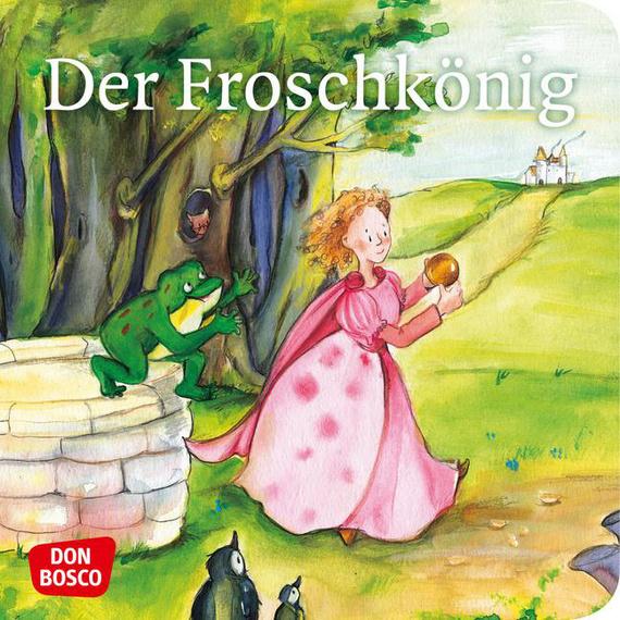 der froschkönig minibilderbuch don bosco minis