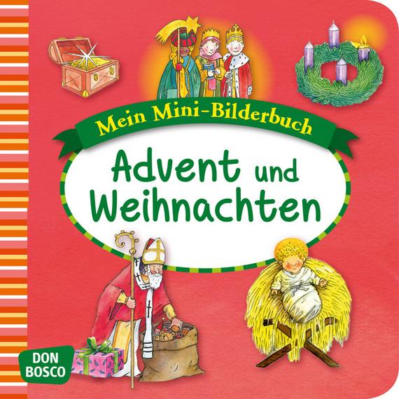Advent Und Weihnachten Im Kindergarten.Advent Und Weihnachten Mini Bilderbuch Mein Mini Bilderbuch Zur Glaubenswelt Religiöse Früherziehung Bildungsbereiche Kindergarten Kita