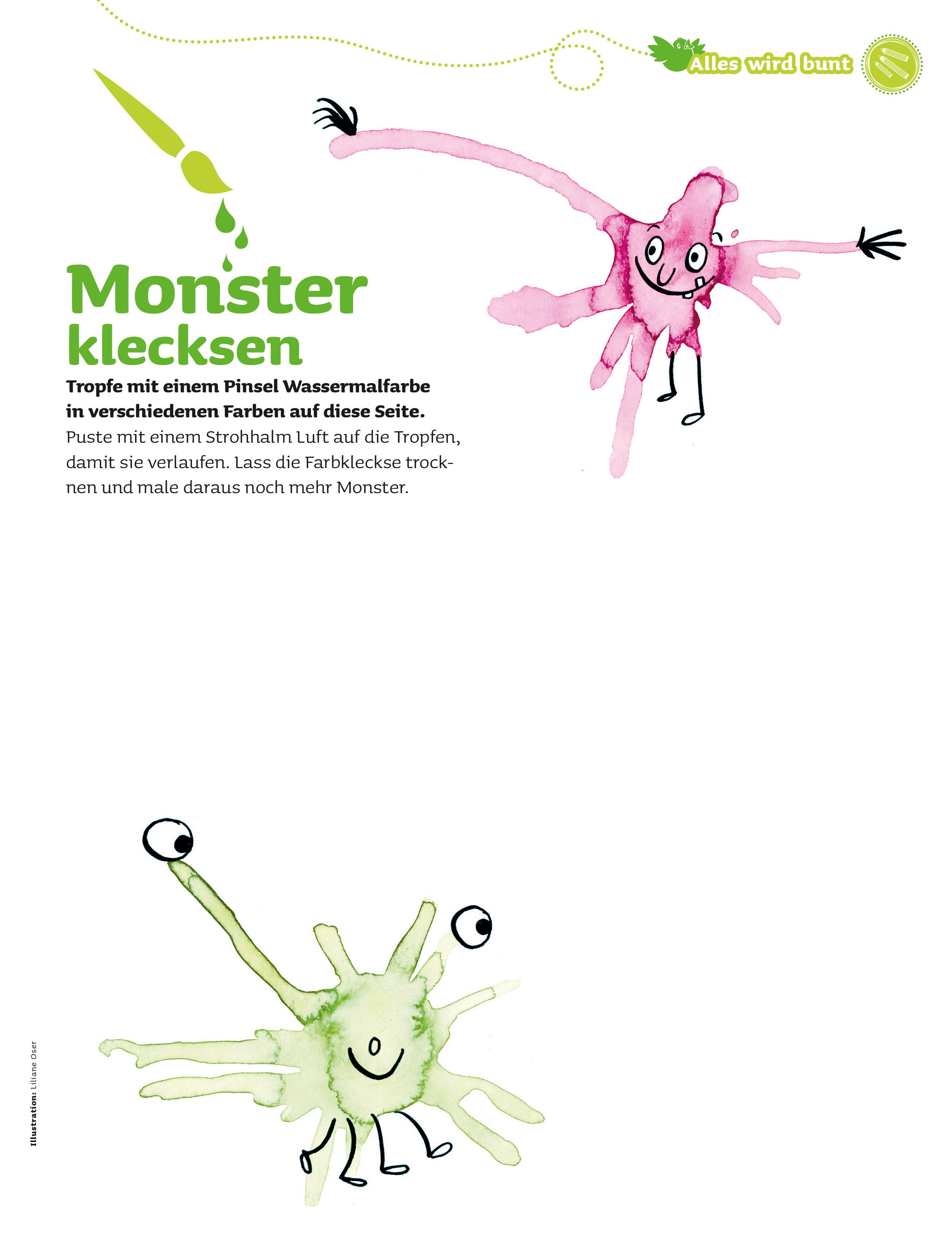 Groß Monster Färbung Bilder Zeitgenössisch - Beispiel Wiederaufnahme ...